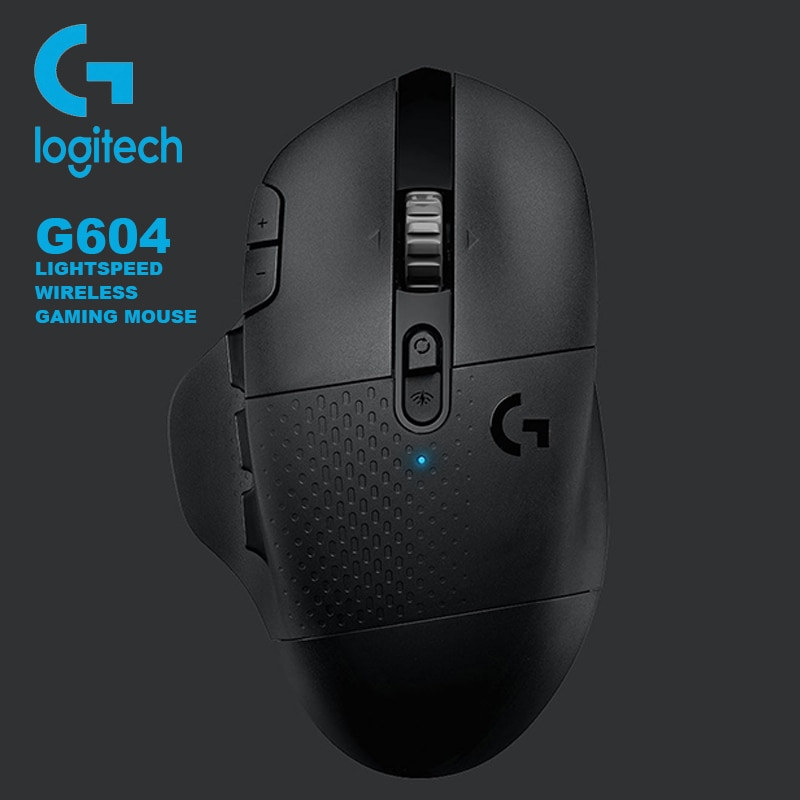 Logitech G604 Lightspeed Gaming Mouse15 z programowalnymi kontrolkami 16000DPI Hero Sensor dla MMO MOBA mysz do gier