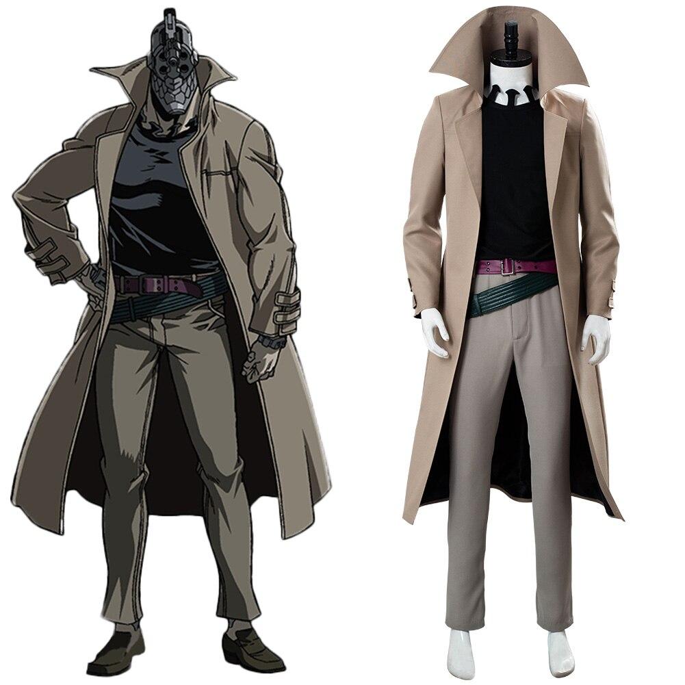 No Guns Life Juzo Inui Cosplay Costume Full Suit Halloween Carnival Costume Men Male