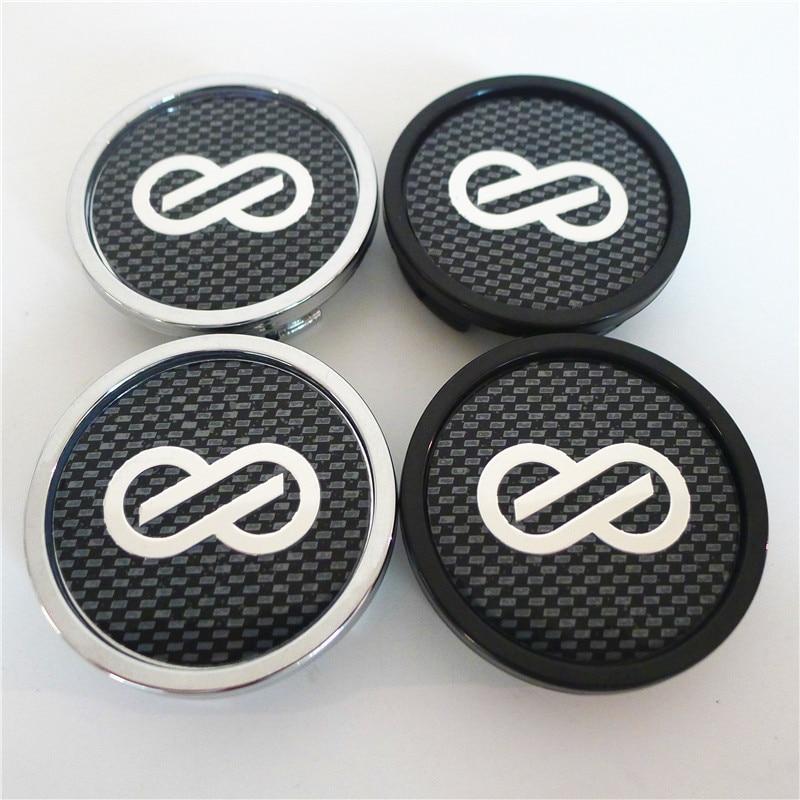 Колпачки на ступицу колеса ENKEI, 4 шт., 58 мм, для стайлинга автомобиля, 50 мм, эмблема, значок, логотип, крышка автомобильного диска, аксессуары