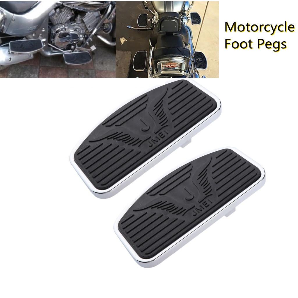 مسند قدم للدراجة النارية هوندا ، مسند قدم عريض ، ملحقات دراجة نارية ، سوزوكي ستريت C50/فولسيا 1300/1800 400 ، VTX 800