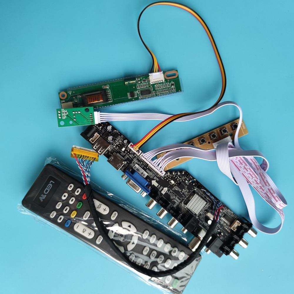 3663 TV تحكم لوحة للقيادة 1 مصابيح جديد DVB-T2 DVB-t DVB-C لوحة تحكم شاملة في التلفزيون الإل سي دي الرقمية إشارة 7 مفتاح زر تحكم مجلس