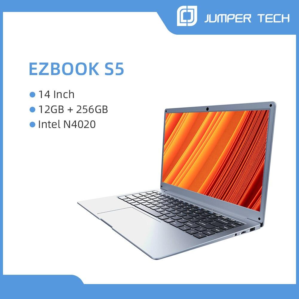 2021 Jumper EZbook S5 12GB 256GB Premium Notebook 14 pulgadas 1920*1080 IPS...