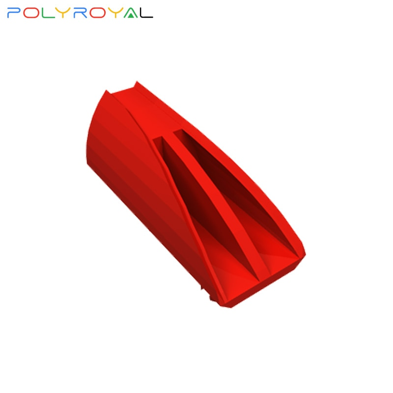Building Blocks Technical parts4194723 Red air inlet rectifier plate 1 PCS MOC Compatible With brands toys for children 30647