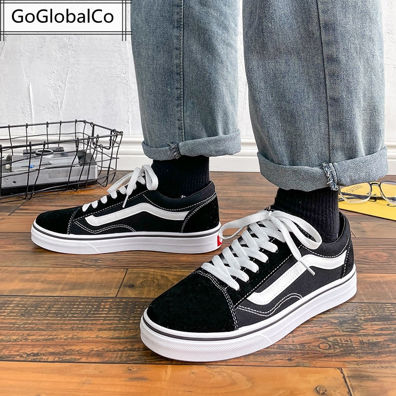 Man Shoes 2021 New Couple Casual Canvas Zapato Japan Korea Lightweight Platform Lace-Up Sneaker Comfortable Driving Footwear A5