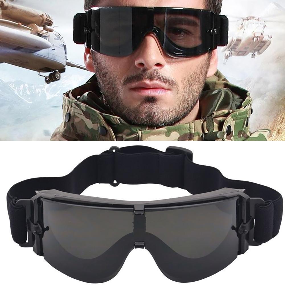 Открытый страйкбол Пейнтбол ветрозащитные очки анти-УФ очки