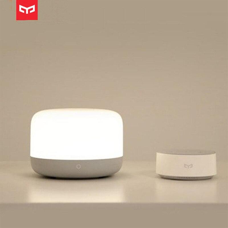 Yeelight YLCT01YL Colorful LED Bedside Lamp Intelligent Dimmable Night Light APP Control HomeKit Smart Night Light Desk Table