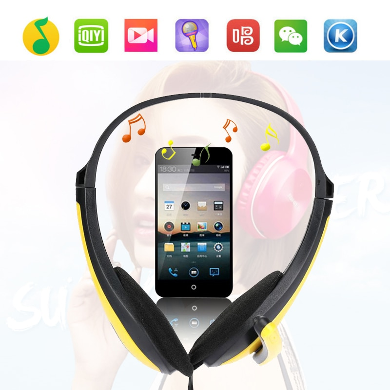 Gaming Stereo Headphone Bass Earphone With Mic For PC Computer Gamer MP3 Player  - buy with discount