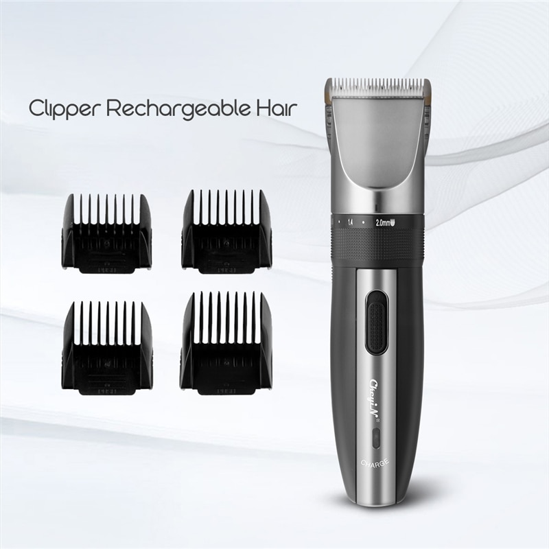 Electric Hair Clipper Rechargeable Hair Trimmer Shaver Razor Cordless 0.8-2.0mm Adjustable Low Noise For Adult /Child 43 enlarge