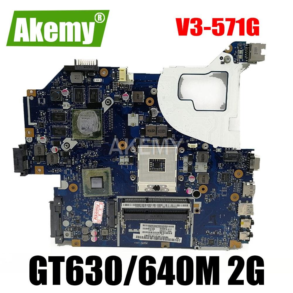 Q5WVH LA-7912P لشركة أيسر Q5WV1 E1-571 / G V3-571 / G دفتر اللوحة الأم NBY1X11001 NBRZP11001 GPU GT630/640M 2G 100% اختبار