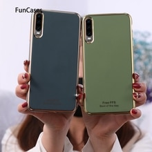 Nieuwste Smartphone Case Covers Voor Huawei P20 Pro Aksesuar Soft Tpu Protector Huawei Ascend P20 Plus P30 P40 Nova 3e lite Pro