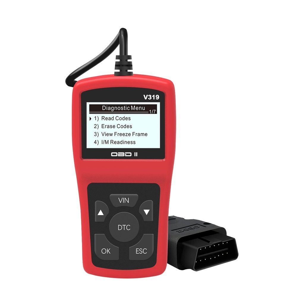 Lector de código V319 OBDII/EOBD leer/limpiar código de fallo OBD OBD2 V319 ELM327 herramienta de diagnóstico automático del coche obd2 escáner VS ELM 327 V1.5