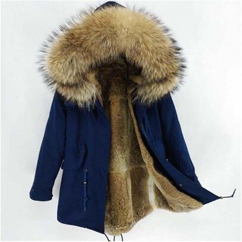 7XL الشتاء الرجال الطبيعي الكبير الراكون الفراء سترة طويلة معطف الفرو الحقيقي معطف مقنع سترات الجيش التكتيكية ماركة الدافئة الذكور