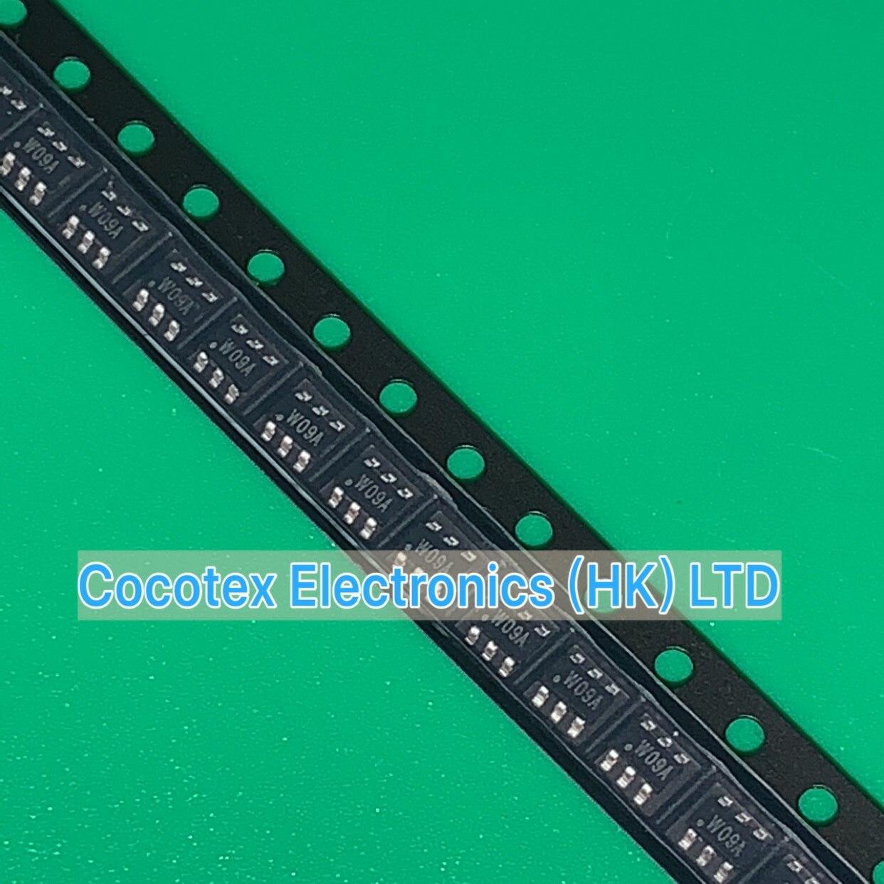 30 unids/lote APW7209CI-TRG SOT23-6 W09C W09 1MHZ de alta eficiencia-Convertidor de 2 a 10 blanco LEDS