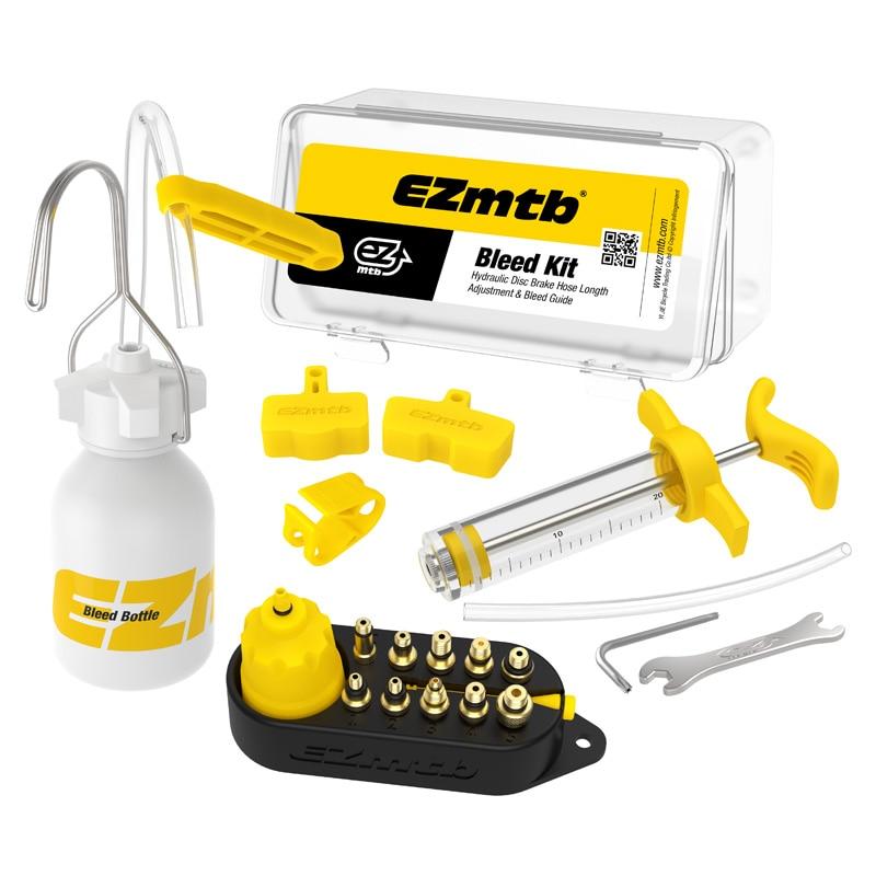 Bicycle Hydraulic Disc Brake Oil Bleed Kit Tools For SHIMANO, SRAM, Avid, MAGURA Series MTB Road Bike Brake Repair Tool RR7306