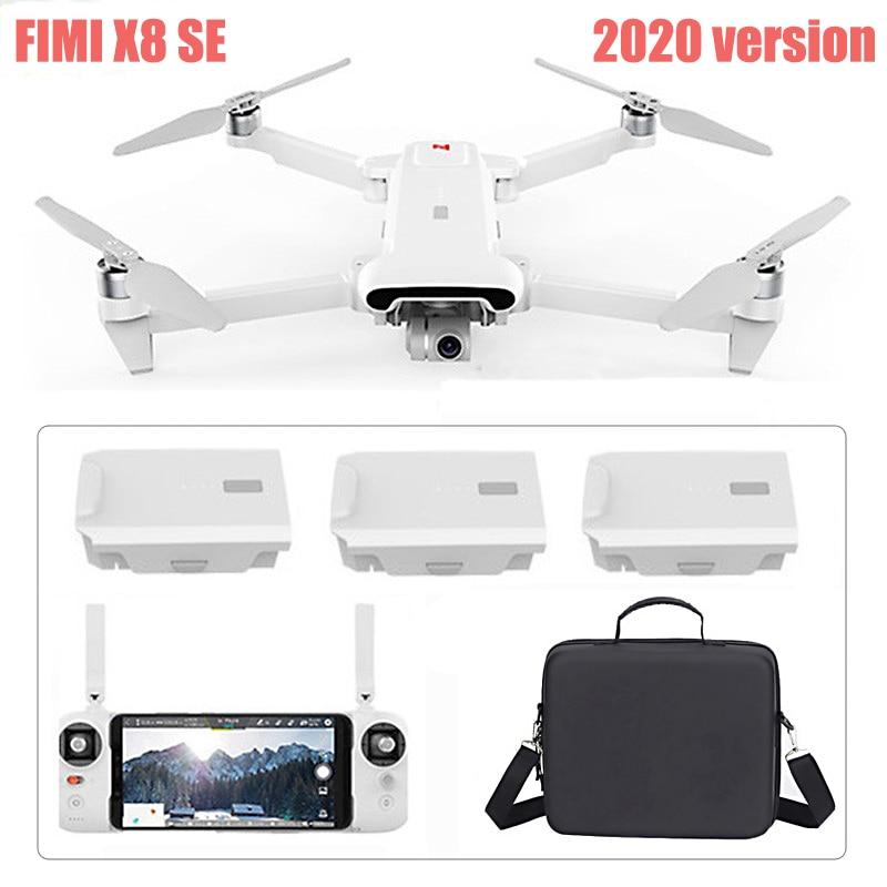 Drone fimi x8 se 2020 8km fpv, drone com 3 eixos, câmera hd, gps 35 minutos tempo de voo drone fimi x8 se quadcopter rtf