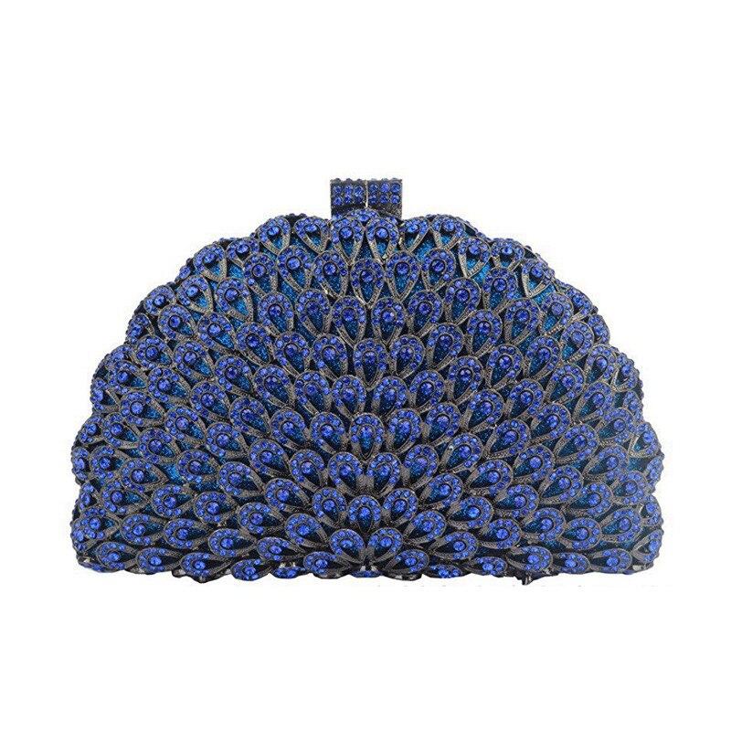 أفضل نوعية الأخضر/الذهب/الأزرق/رمادي ماسك من الكريستال حقيبة موضة جديدة للمرأة الماس الزفاف الزفاف حقائب سيدة الهاتف الطرف المحافظ