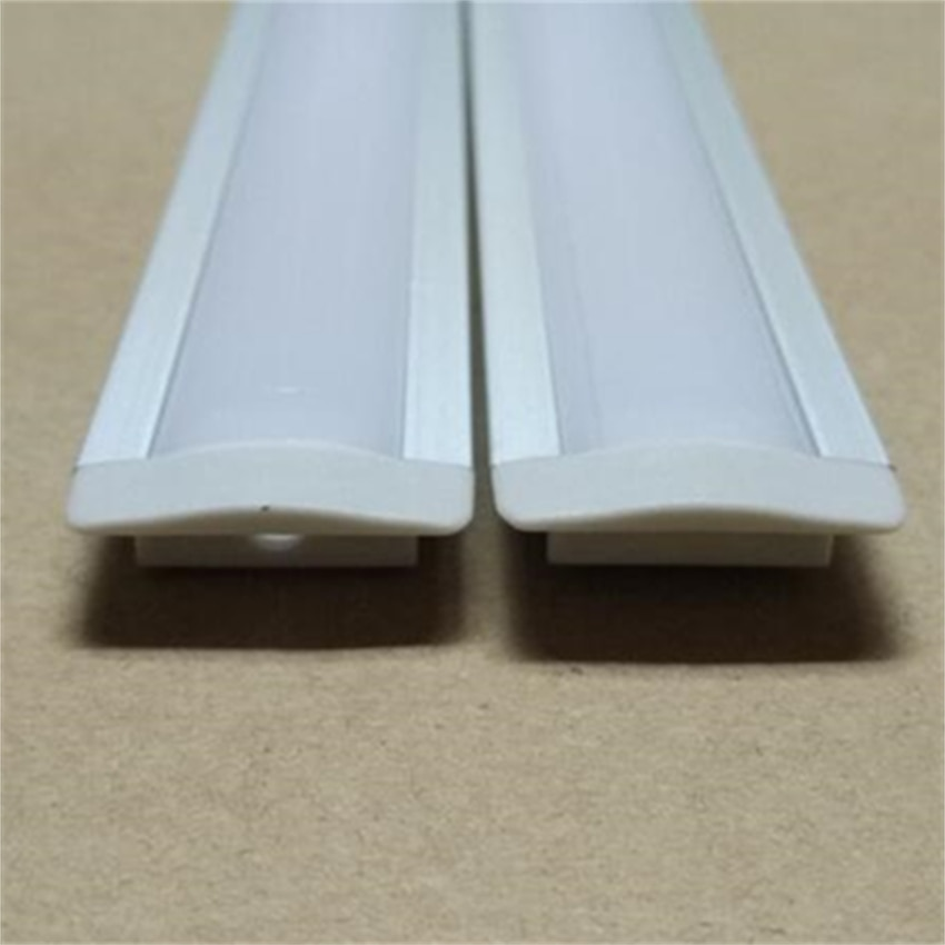 Free Shipping Hot 2000MMX25MMX7MM 2Meters/Pcs 6000 Series Grade  Aluminium Profile For LED Strips
