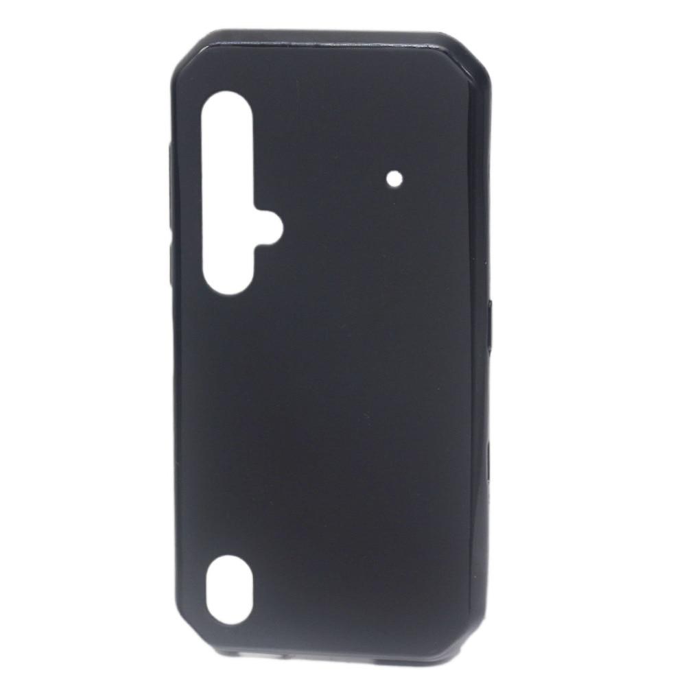 Funda negra mate para Blackview BV9900 funda trasera de silicona TPU suave a prueba de golpes funda de Color de fondo BV9900 Pro funda protectora para teléfono