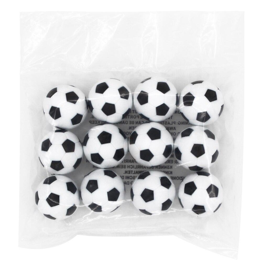 12 pces 36mm futebol mesa futebol futebol bola entretenimento acessórios kicker
