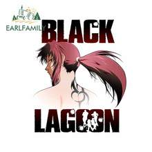 Earlfamily 13Cm X 10.7Cm Voor Black Lagoon Anime Auto Stickers Bumper Persoonlijkheid Motorcycle Decal Laptop Windows Vinyl Auto wrap