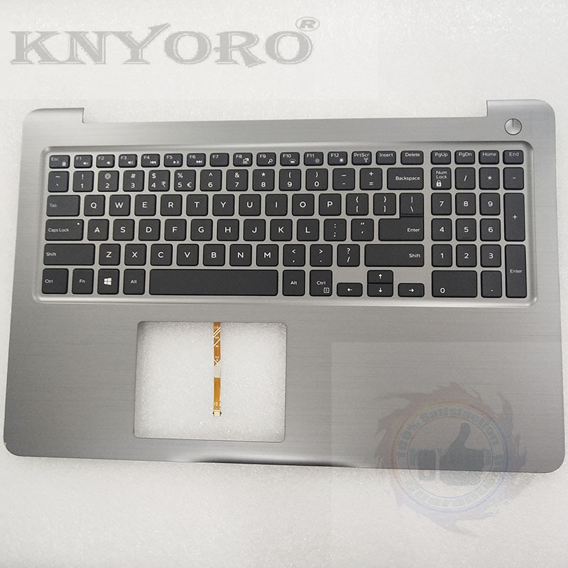 Original para DELL INSPIRON 5565 15 5567 portátil Palmrest nos Teclado retroiluminado PT1NY 0 PT1NY CN-0PT1NY 0 C98XV 0GGVTX