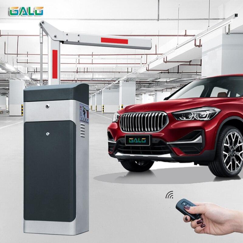 Venta directa de fábrica brazo plegable de ángulo recto 4,5 m 3s barrera de aparcamiento automática para sistema de aparcamiento y puerta de peaje