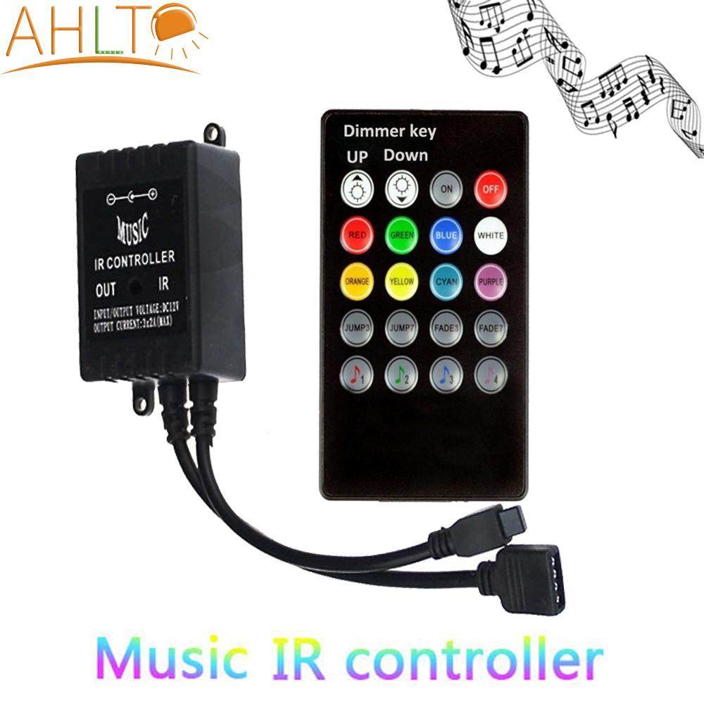 20 Keys IR Music sync remote LED Strip controller Sound Sensor for light module lamp switch wireless