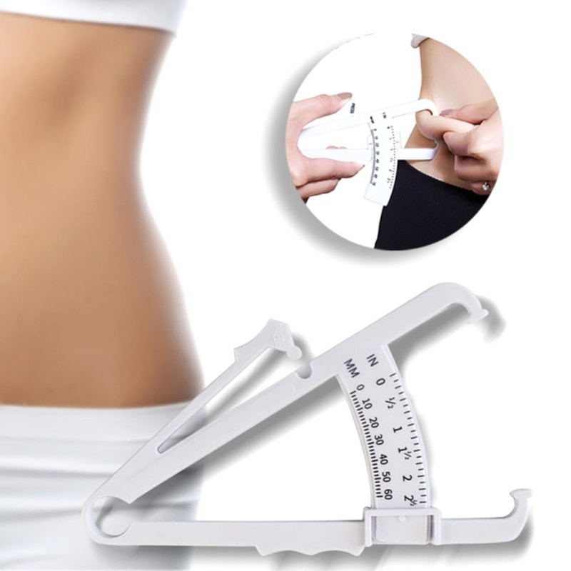 Fat Caliper Measuring Tape Portable Manual Battery Free Body Measurement Tool Household Health Monitors New Arrival
