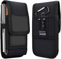 Чехол для телефона Xiaomi 10, 10Pro, 9, 9Lite, 8, 8Lite, Redmi Note10, 9, 9A, 9C, 8T, 8Pro, чехол с зажимом для ремня, кобура из ткани Оксфорд, Чехол для карт