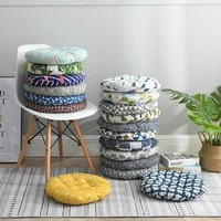 thicken round chair cushion for dining seat cushions for back pain home decor office chair cushion chair pads with ties non slip