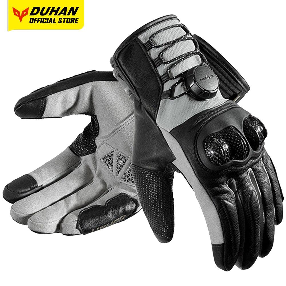 Перчатки для езды на мотоцикле Fujin, черные противоударные перчатки для езды на мотоцикле, Нескользящие, дышащие, для сенсорных экранов, 2019