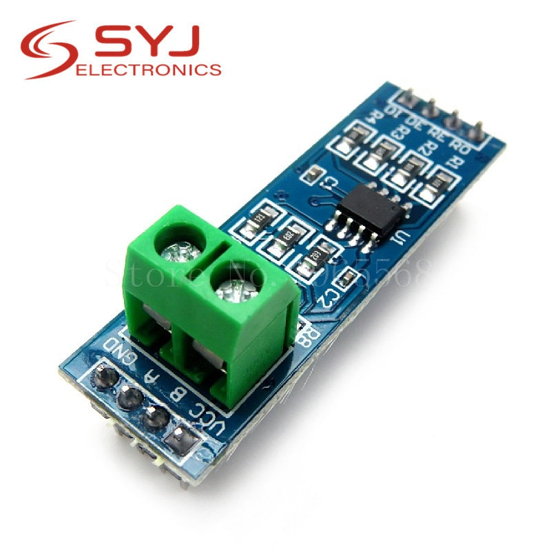 Módulo MAX485 de 5 unids/lote RS-485 módulo convertidor TTL a RS485 MAX485CSA para productos de Circuitos Integrados Arduino