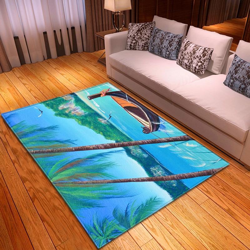 من المألوف الحديثة نمط سجادة أرضيات المنسوجات المنزلية الديكور السرير الجدول سجادة للدهليز عدم الانزلاق المطبخ حصيرة غرفة المعيشة lar