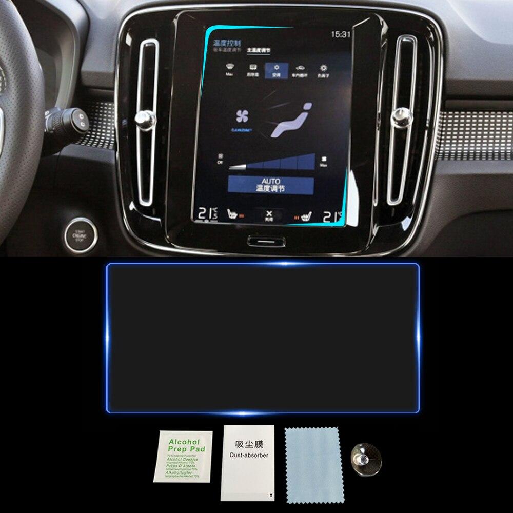For Volvo XC40 2017-2020 Auto Car Navigation Film GPS Monitor Screen Protective Tempered Glass Film Sticker Interior Accessories