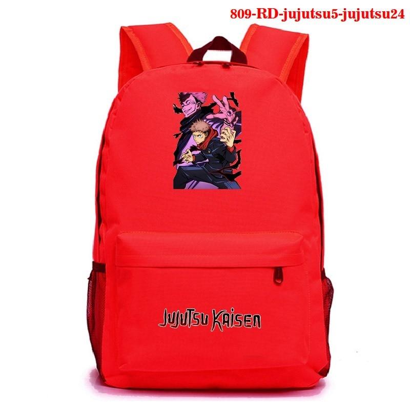 Anime Cosplay Backpack Jujutsu Kaisen Student School Shoulder Bag Teenager Laptop Travel Rucksack Mochila Para Hombre Backpack