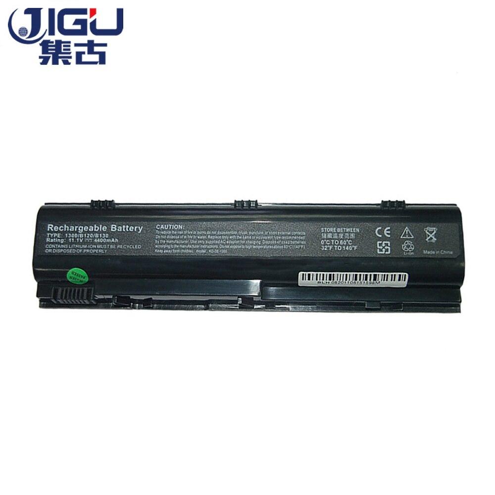 Batería negra para ordenador portátil de 6 celdas JIGU de alta capacidad para DELL Inspiron 1300 para Inspiron B1300