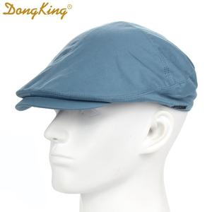 New Spring Hat Berets Newsboy Gatsby Cap Solid Cotton Men Flexible Hats Cabbie Driver Hats Casquette Summer Autumn 4 Colors