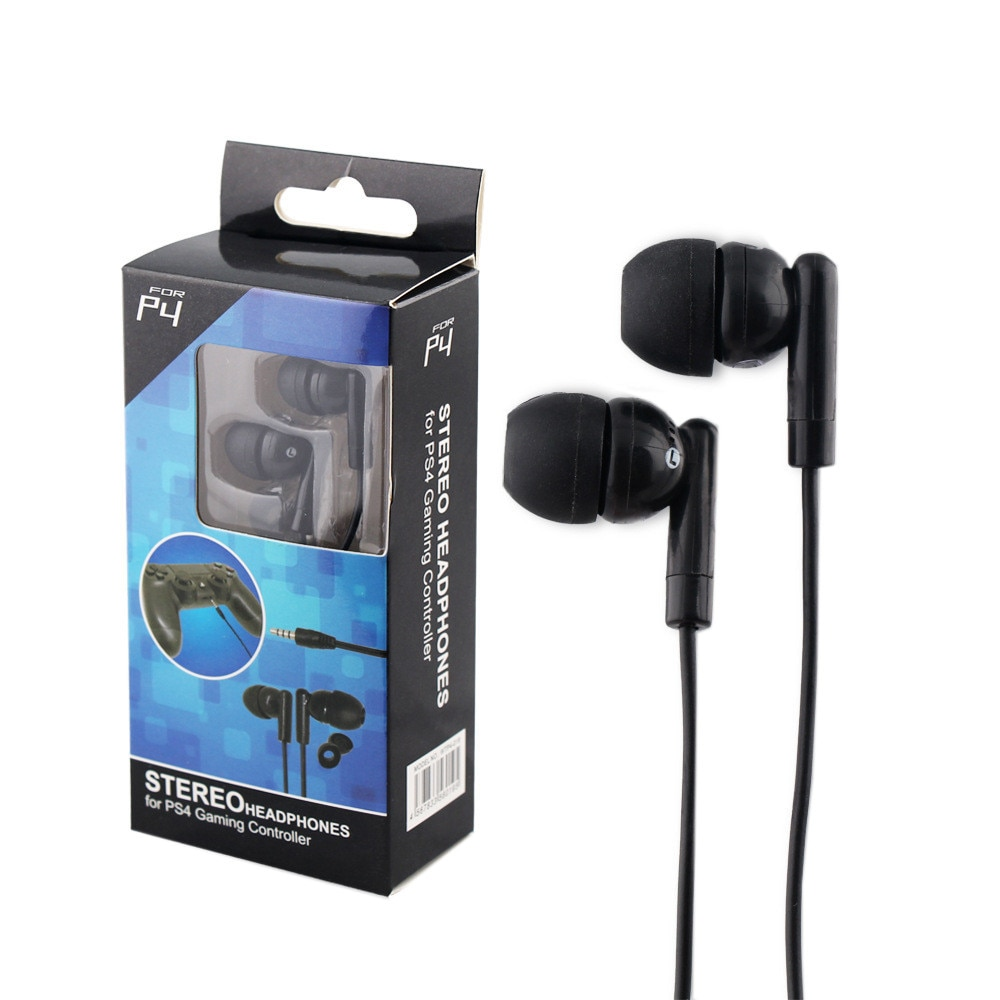Earphones with cable and microphone Earphone bass dynamic gaming earphone cuffie for pc PS4 hifi Waterproof Wired headphones tws
