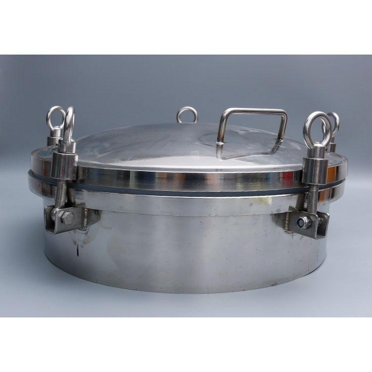 غطاء فتحة ضغط SS304 ssss3, فتحة ذات ضغط دائري للمراقبة عالية الضغط لخزان غلاية المياه