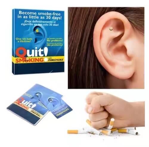 2 uds. Parche magnético de acupresión para dejar de fumar, terapia de salud sin cigarrillos, parche antihumo para dejar de fumar, juego de herramientas para fumadores sin humo