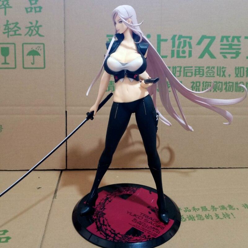 ¡Anime Figura 26 CM selección X Yuko Sagiri oscuridad Ver! Escala 1/7 pintado figura juguete de modelos coleccionables T30