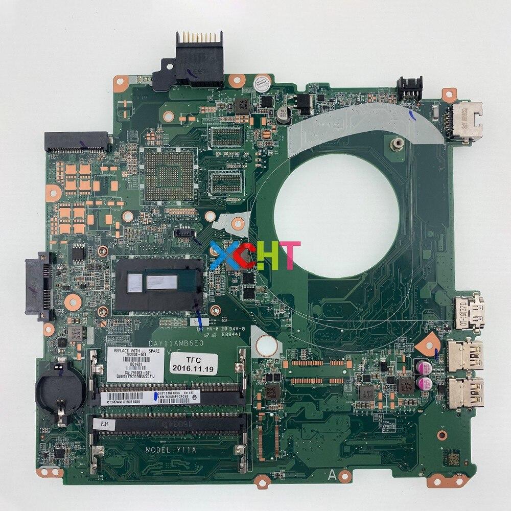 782300-501 782300-001 782300-601 UMA i5-5200U وحدة المعالجة المركزية ل HP الحسد 14T-U200 14-u290la الكمبيوتر الدفتري المحمول اللوحة اللوحة