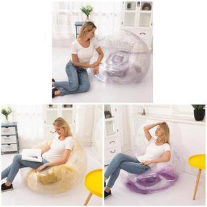 Bag Air Sofa Waterproof Glitter Inflatable PVC Chair Beach Party Home Office THIN889