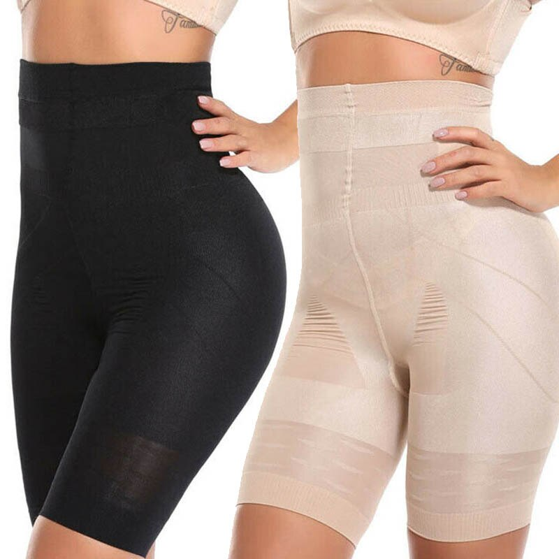 High Waist Weight Loss Shorts Thigh And Waist Shaping Sexy Shapers Underbust Tummy Control Body Shaper Slimming Shapewear adjustable body shaper women sexy breast care corsets body sculpting high elasticity solid slimming underbust waist shapewear