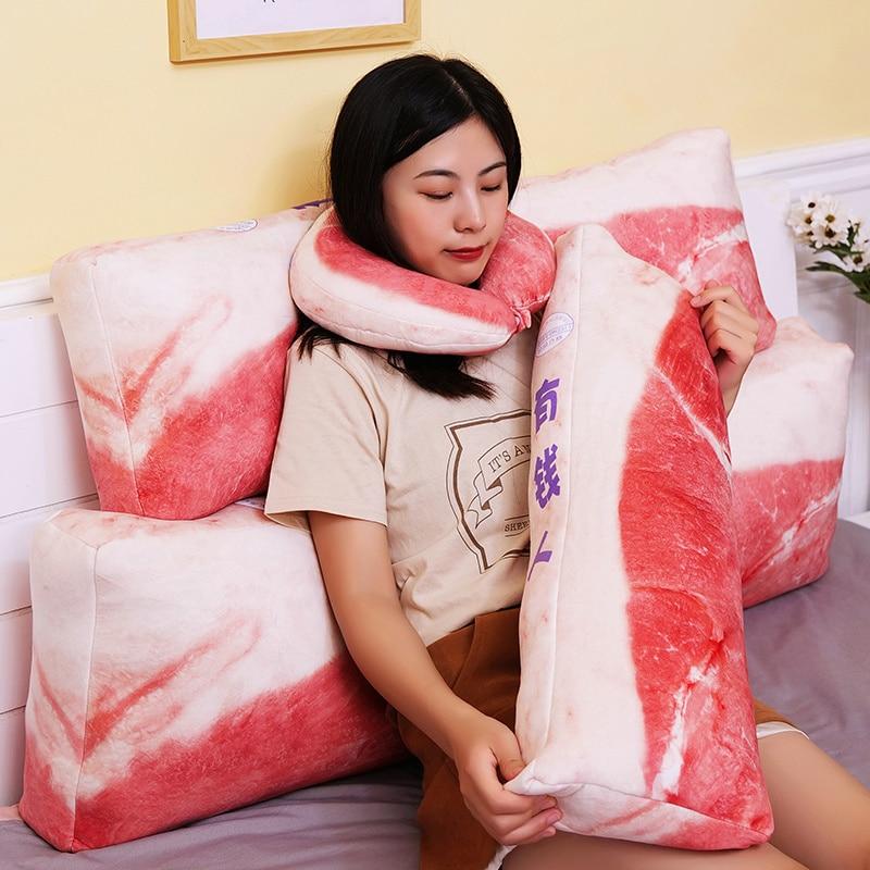 Lovely Soften Plush Doll Simulation Korea Pork Plush Pillow Toy Large Soft Cushion Gift For Girlfriend Large Cushion Big Pillow