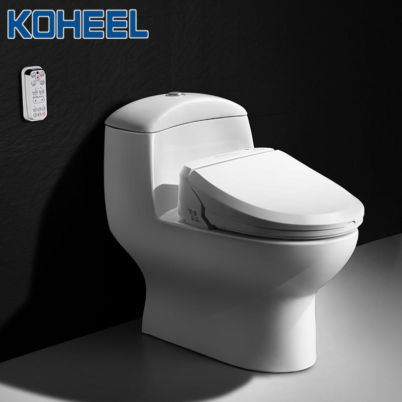 KOHEEL-مقعد مرحاض ذكي ، غطاء بيديت ، مع التنظيف والتجفيف والتدليك الحراري ، للأطفال والنساء وكبار السن