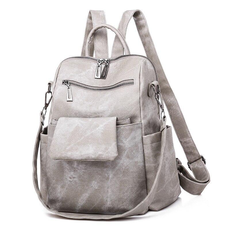 Модная новая женская сумка, женская сумка, рюкзак, женский модный рюкзак на плечо, женский простой темпераментный рюкзак оптом