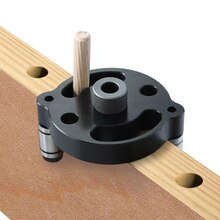 6 8 10mm bois droit trou perforateur auto-centré rond bois Tenon épissage forage localisateur trou-ouverture outils de menuiserie