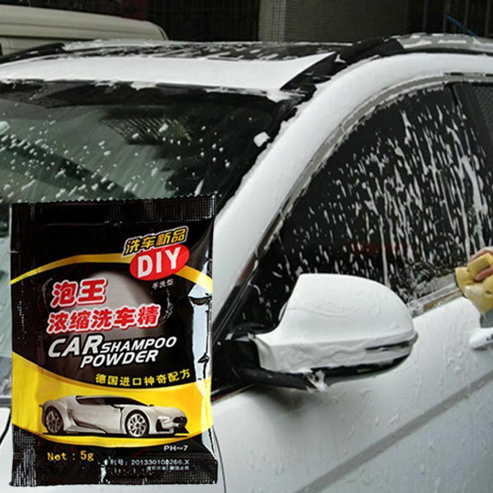 Burbuja King, 10 Uds., concentrado para lavado de coches/coche, lavado en polvo, accesorios para coche, espuma de limpieza caliente
