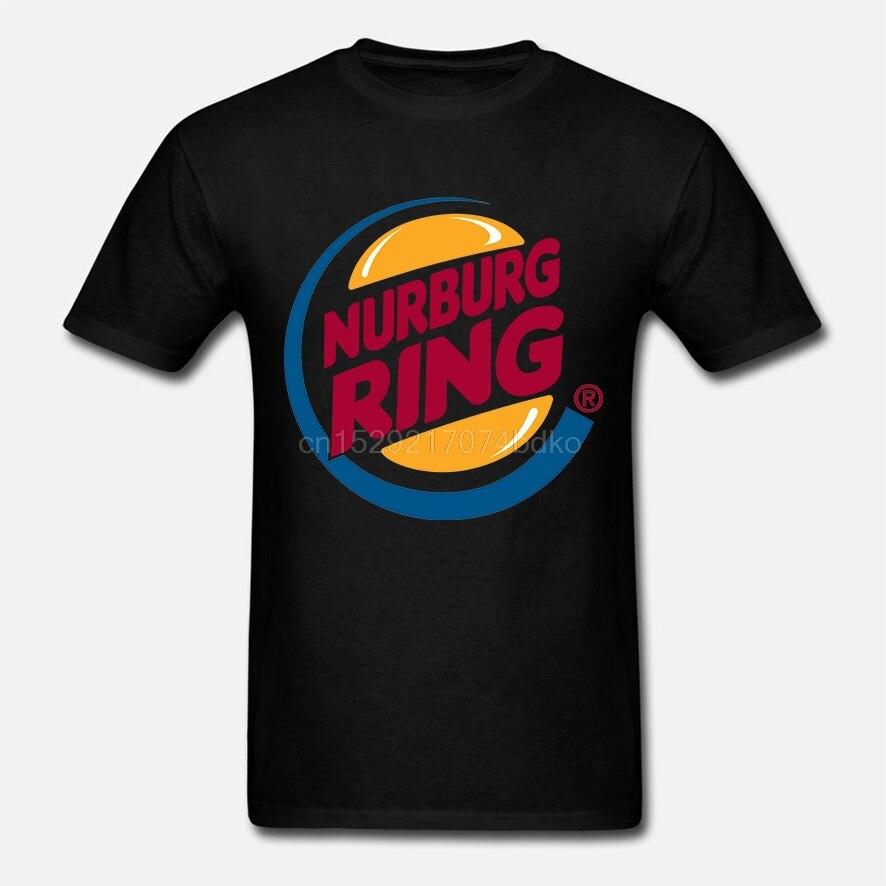 Nurburgring Funny Burger King Parody Racings Track Mens Unisex T Shirt S 3Xl T Shirt New 2018 Fashion Summer Style Cool Tees